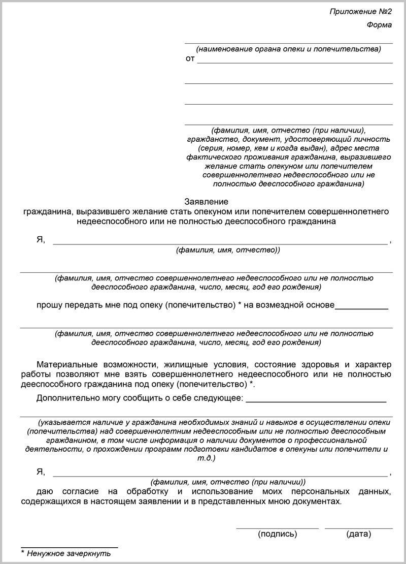 как оформить опеку над недееспособным человеком в украине