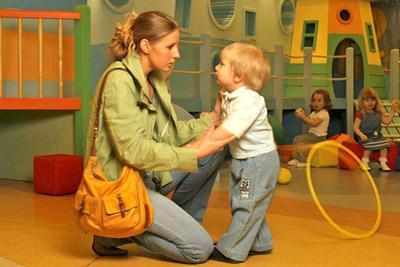Манера общения матери с ребенком