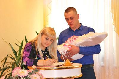 На регистрации рождения ребенка