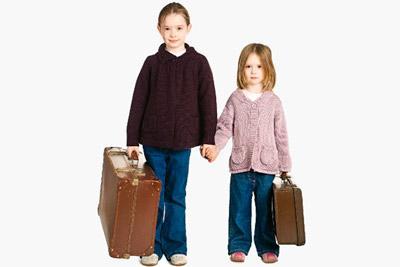 Девочки с чемоданами