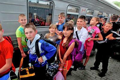 Поездка в летний лагерь