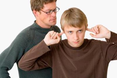 Возникновение конфликта между ребенком и опекуном