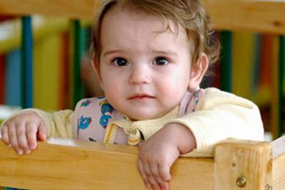 Малыш без родителей