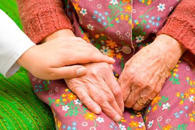 Оказание помощи престарелым