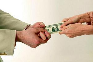 Дележ денег при разводе