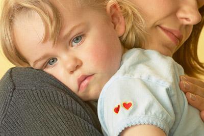 Ребенок с опекуном