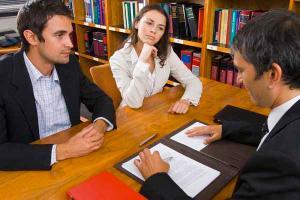 Консультация супругов о разделе имущества