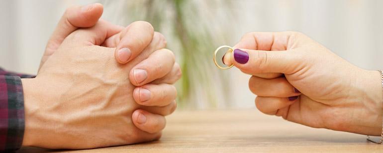 Официальные причины развода