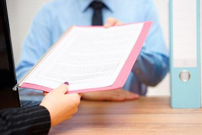 Передача документов в суд