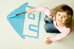 Жилье в собственности ребенка