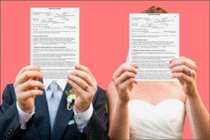 Раздел имущества: брачный контракт