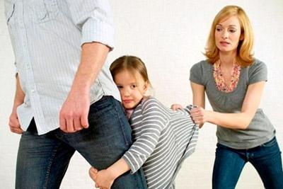 Девочка хочет жить с отцом