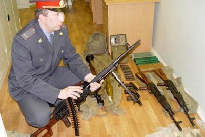 Взятие оружия под охрану