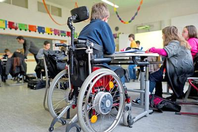 Ребенок-инвалид в школе