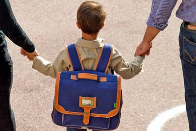 Ребенок идет в школу