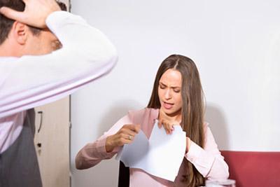 Супруга разрывает брачный договор