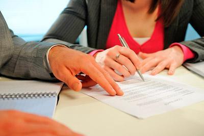 Договор о разделе имущества