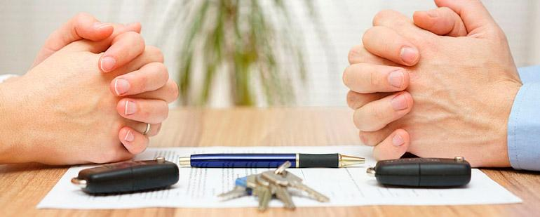 Составление соглашения о разделе имущества