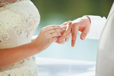 Невеста с женихом