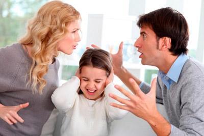 Спор между родителями
