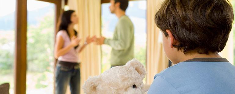 Расторжении брака и взыскании алиментов