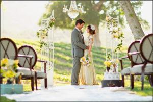 Организация выездной неофициальной регистрации брака