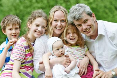 Дети с родителями