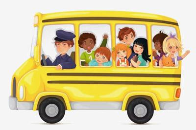 Автобус с детьми