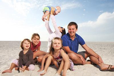 Отпуск у семьи