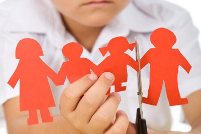 Состояние ребенка при разводе родителей