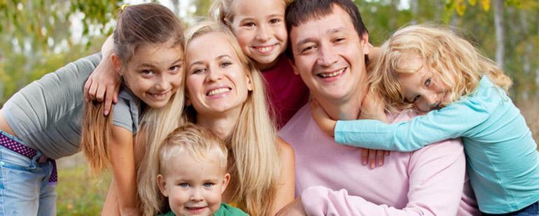 Льготы для многодетных семей Санкт-Петербурга