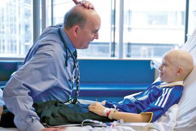 Ребенок болен онкологическим заболеванием