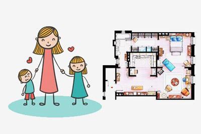 Жилищные программы для одиноких матерей
