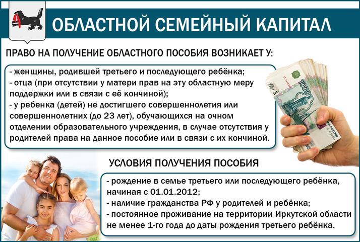 Областной материнский капитал