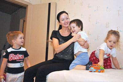 Семья нуждается в улучшении жилищных условий