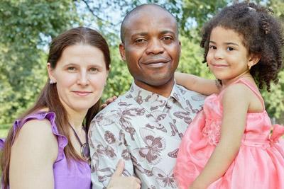 Ребенок и родидели