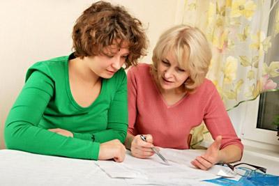 Посчитать доход на семью
