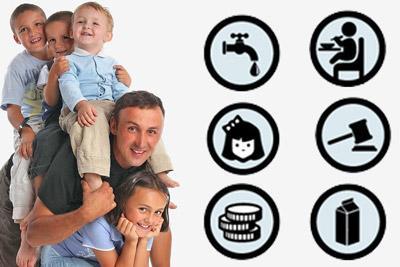 Льготы многодетному отцу