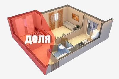 Часть квартиры