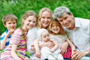 Пособие многодетным семьям