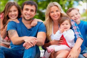 Многодетная семья: удостоверение