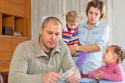 Семья с маленьким достатком