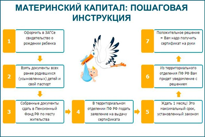 Маткапитал: пошаговая инструкция
