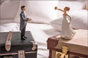 Супруги делят имущество после развода