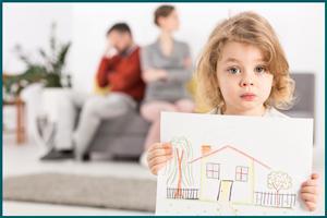 Защита детей после развода родителей