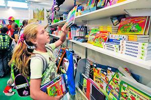 Школьник в магазине
